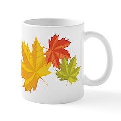 Three Leaves Mug