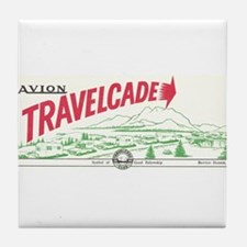 Avion Travelcade Club Mounta Tile Coaster