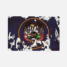 Utah Flag Rectangle Magnet