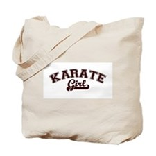 Karate girl Tote Bag