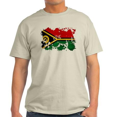 Vanuatu Flag Light T-Shirt