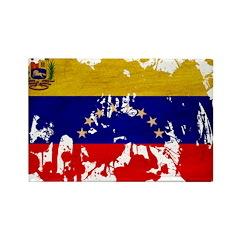 Venezuela Flag Rectangle Magnet (100 pack)