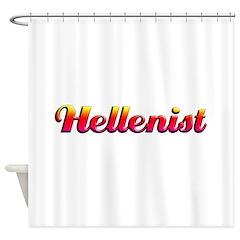 Hellenist Shower Curtain