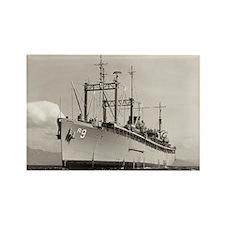 USS DELTA Rectangle Magnet