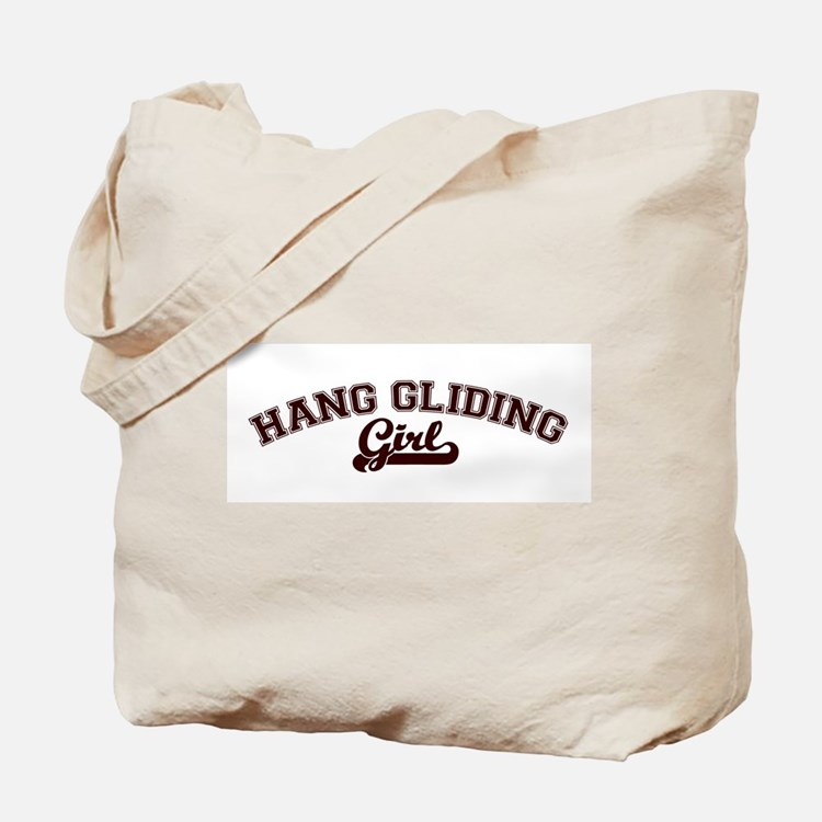 Hang Gliding girl Tote Bag