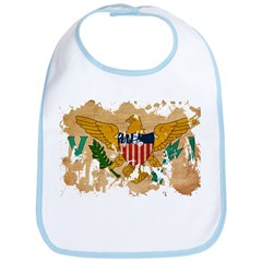Virgin Islands Flag Bib