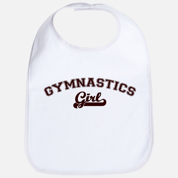 Gymnastics girl Bib