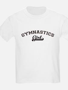 Gymnastics girl Kids T-Shirt