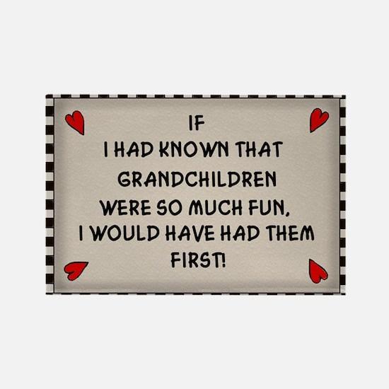 Grandchildren Rectangle Magnet
