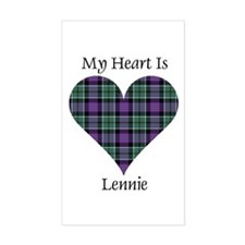 Heart - Lennie Decal