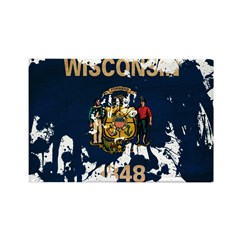 Wisconsin Flag Rectangle Magnet (10 pack)