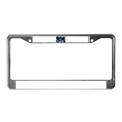 Wisconsin Flag License Plate Frame