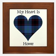 Heart - Home Framed Tile