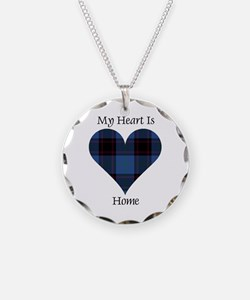Heart - Home Necklace Circle Charm