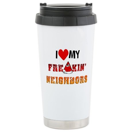 Stainless Steel Travel Mug with hilarious quotes