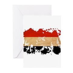 Yemen Flag Greeting Cards (Pk of 10)