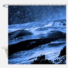 Haleakala Moonrise Maui Shower Curtain