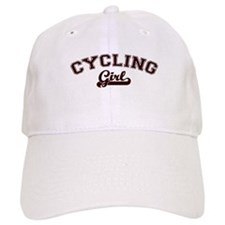 Cycling girl Baseball Cap