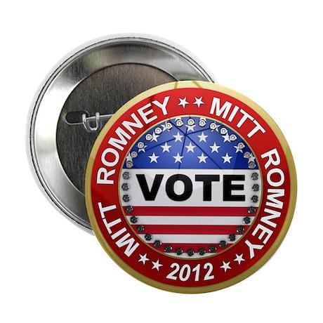 "Vote Mitt Romney for president 2012 2.25"" Button ("