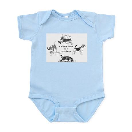Working Beagle Infant Creeper