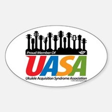 UASA Member Sticker (Oval)
