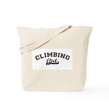Climbing girl Tote Bag