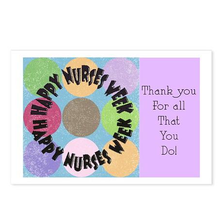 Nurse Week May 6th Postcards (Package of 8)