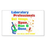 Lab Week 2012 Sticker (Rectangle 10 pk)