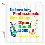 Lab Week 2012 Shower Curtain