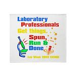 Lab Week 2012 Throw Blanket