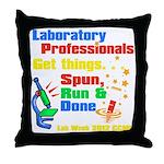 Lab Week 2012 Throw Pillow