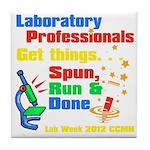 Lab Week 2012 Tile Coaster