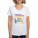 Lab Week 2012 Women's V-Neck T-Shirt
