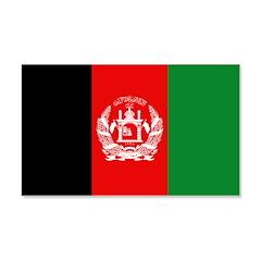 Afghanistan Flag 22x14 Wall Peel