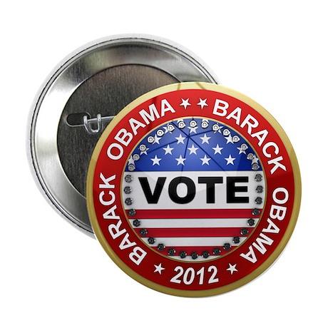 "Vote Barack Obama for president 2.25"" Button"