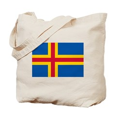 Aland Flag Tote Bag