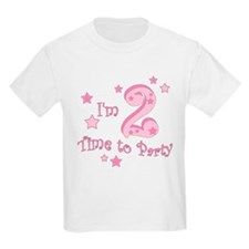 im_two_time_to_party_pink T-Shirt