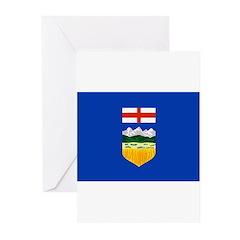 Alberta Flag Greeting Cards (Pk of 20)