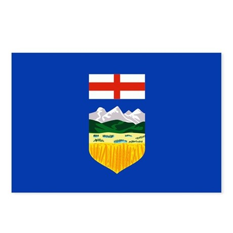 Alberta Flag Postcards (Package of 8)