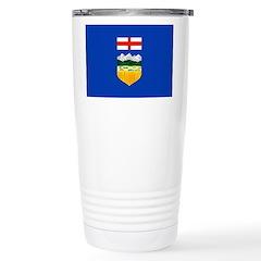 Alberta Flag Travel Mug