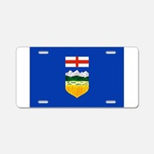 Alberta Flag Aluminum License Plate