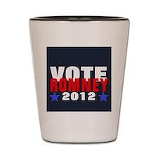 Vote Romney 2012 Shot Glass