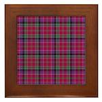 Tartan - Leith Framed Tile