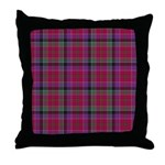 Tartan - Leith Throw Pillow