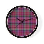 Tartan - Leith Wall Clock