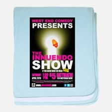 The Innuendo Show - April 201 baby blanket