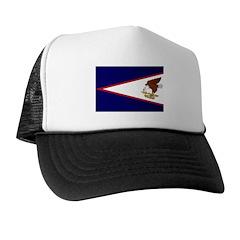 American Samoa Flag Trucker Hat