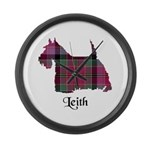 Terrier - Leith Large Wall Clock