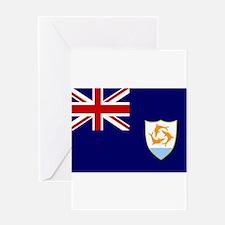 Anguilla Flag Greeting Card