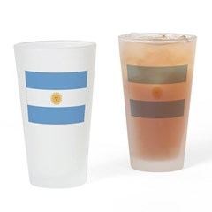 Argentina Flag Drinking Glass